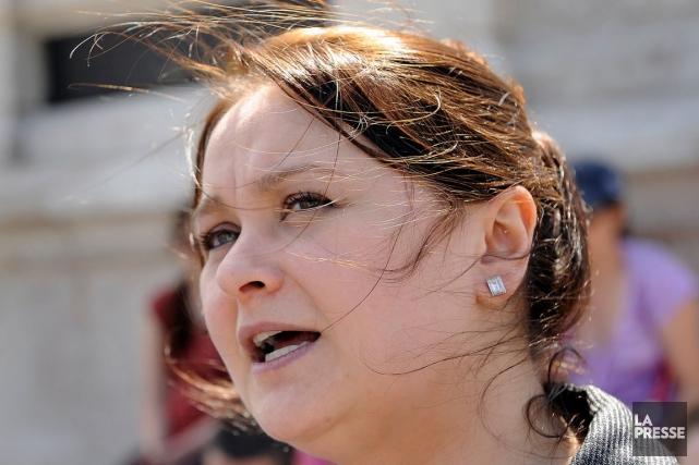 La députée néo-démocrate de Québec Annick Papillon estime... (Photothèque Le Soleil, Patrice Laroche)
