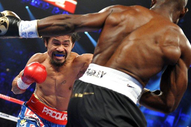 Manny Pacquiao veut sa revanche contre Timothy Bradley.... (Photo : Joe Klamar, AFP)