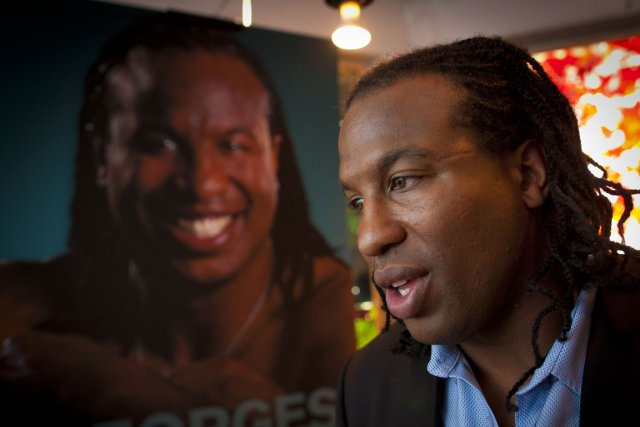 Georges Laraque... (Photo André Pichette, La Presse)