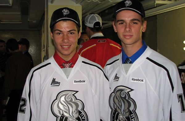 Alexandre Carrier (à gauche) et Kameron Kielly seront... (Courtoise)