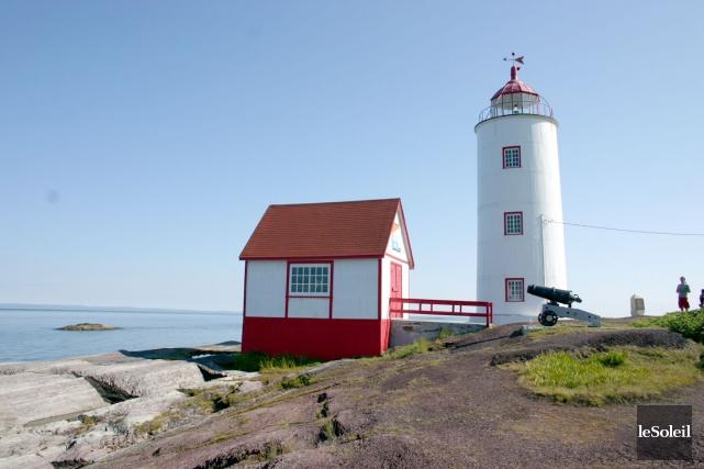 Le phare de l'île Verte est le plus... (Photothèque Le Soleil)