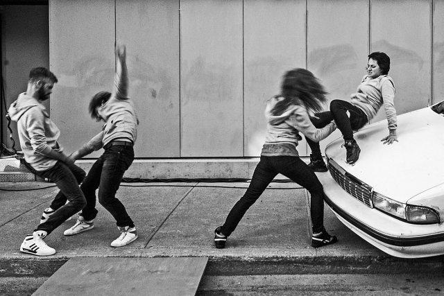 Les néo-futuristes, inspirés d'un courant de théâtre américain,... (Photo: fournie par Espace libre)