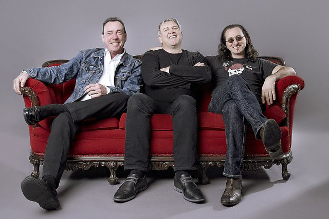 Neil Peart, Alex Lifeson et Geddy Lee. Lifeson...