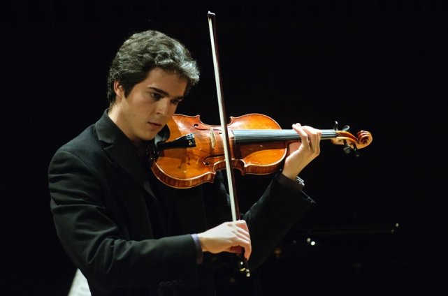 Victor Fournelle-Blain, violoniste, Prix d'Europe 2012....