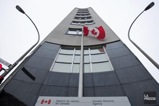 Le ministère fédéral du Revenu est à la... (PHOTO IVANOH DEMERS, ARCHIVES LA PRESSE)