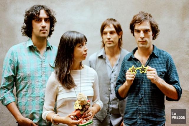 Andrew Barr, Sarah Page, Andres Vial et Brad... (Photo: archives La Presse)