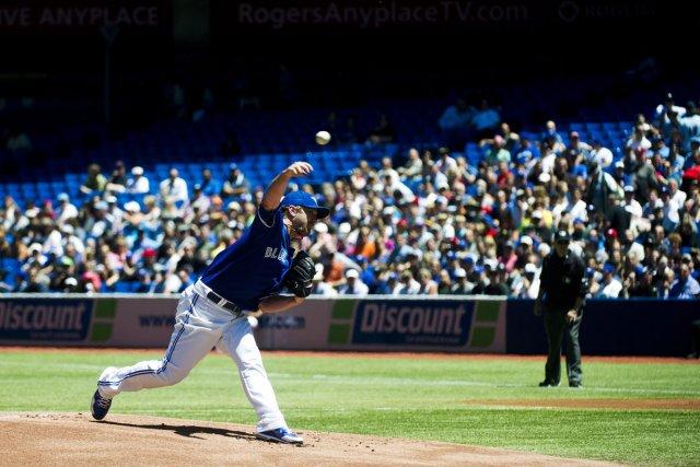 Le lanceur droitier des Blue Jays de Toronto... (Photo: Nathan Denette, Archives La Presse Canadienne)