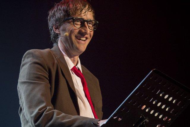Emmanuel Bilodeau, parfait dans le rôle de «Tonino... (Photo: Olivier Pontbriand, La Presse)