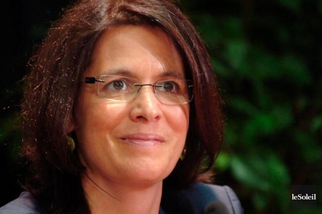 Sophie D'Amours, de la Faculté des sciences et... (Photothèque Le Soleil, Jean-Marie Villeneuve)