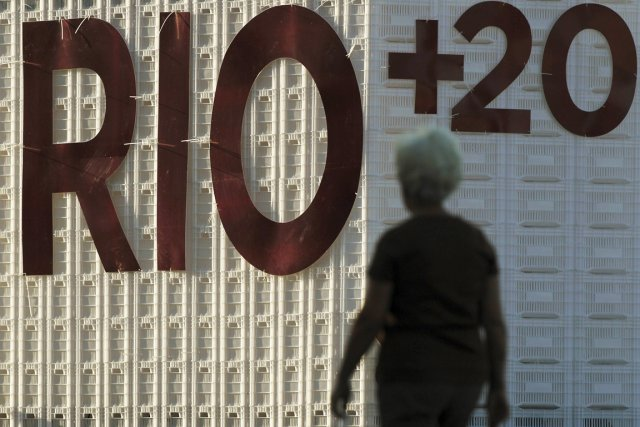 Une centaine de chefs d'État et de gouvernement... (Photo: Ueslei Marcelino, Reuters)