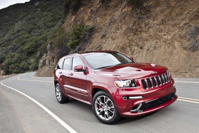 Jeep Grand Cherokee SRT.... (Photo: Jeep)