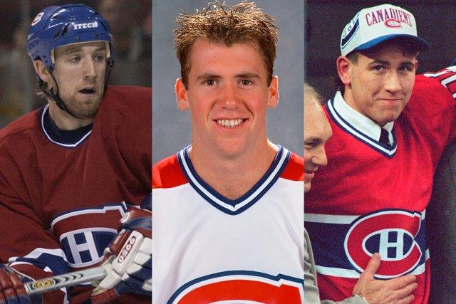 Jason Ward, Éric Chouinard et Terry Ryan, trois... (Photos: La Presse et PC)