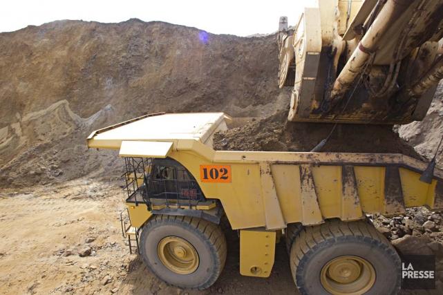 Déprimée par les prix du minerai de fer... (Photo François Roy, Archives La Presse)