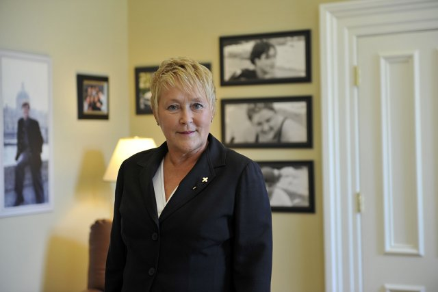 Pauline Marois, photographiée à l'Assemblée nationale.... (Photo: Steve Deschênes, Le Soleil)