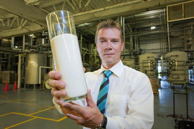 Éric Thiffault, directeur de l'usine Tergel, propriété du... (Photo: André Pichette, La Presse)