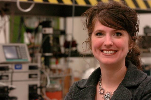 La directrice générale du Centre national en électrochimie... (Photo: François Gervais)