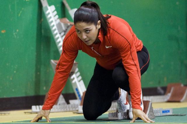 Priscilla Lopes-Schliepn'avait pas participé à une épreuve de... (Photo archives PC)