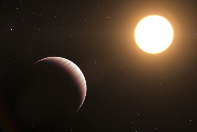 À moins que cette exoplanète ne passe entre... (Photo AFP)