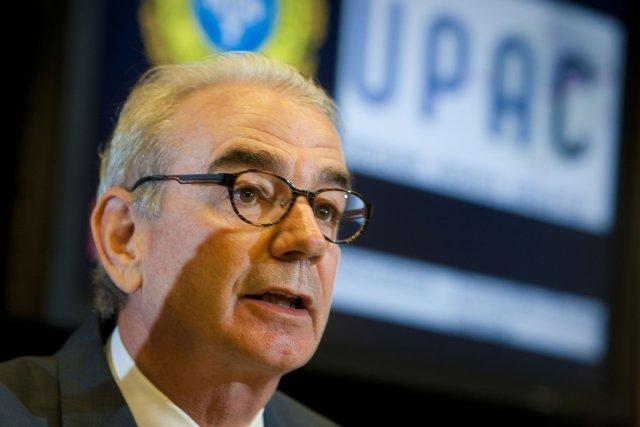 Le grand patron de l'UPAC, le commissaire à... (Photo André Pichette, La Presse)