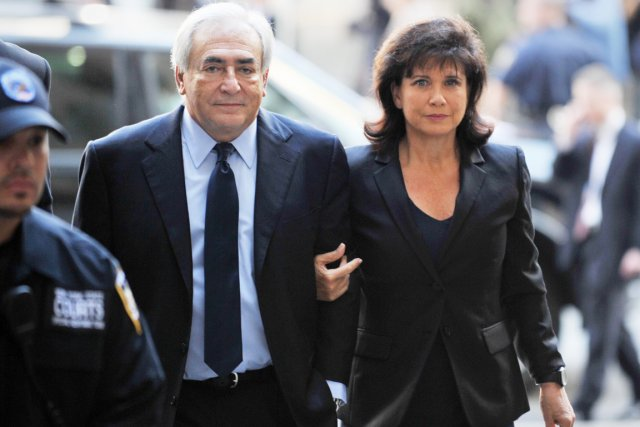 Dominique Strauss-Kahn a bâti son ascension sur une... (Photo: Stan Honda, Archives AFP)