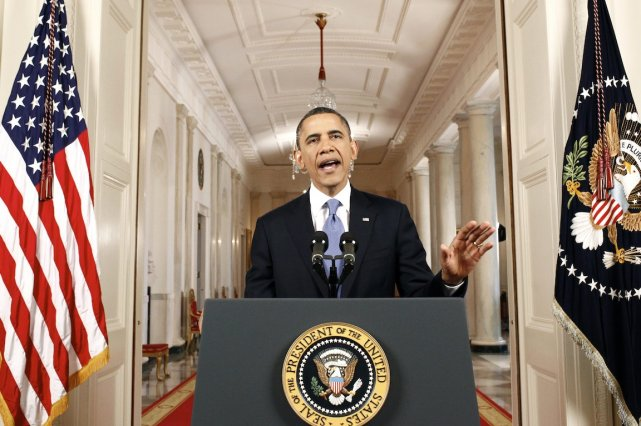 Barack Obama doit tirer une leçon de cet... (PHOTO : LUKE SHARRETT, ASSOCIATED PRESS)