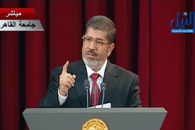 Mohamed Morsi, qui a pris ses fonctions le... (Photo : AFP)