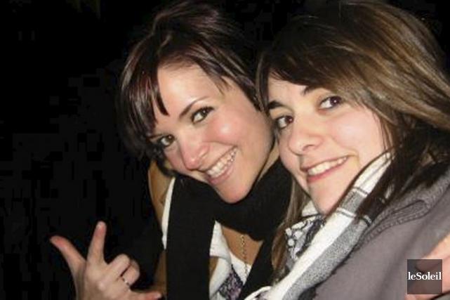 Les soeurs Noémi et Audrey Bélanger... (Photothèque Le Soleil)