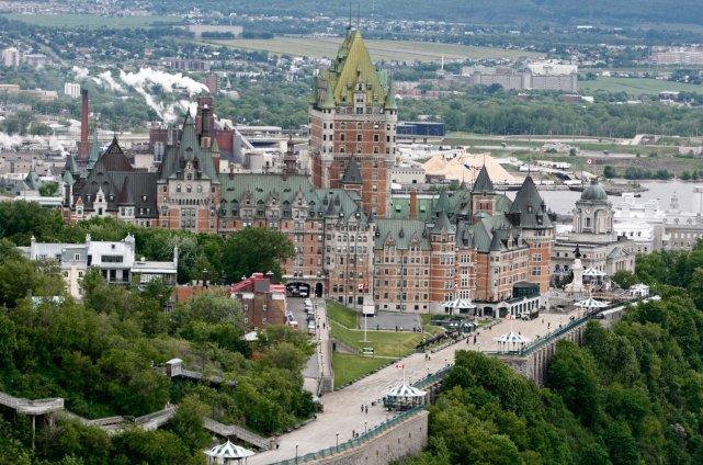 Québec fête ses 404 ans ce 3 juillet.... (Le Soleil, Laetitia Denoninck)