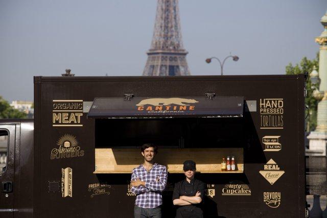 Cantine California, à Paris.... (Photo NYTimes)
