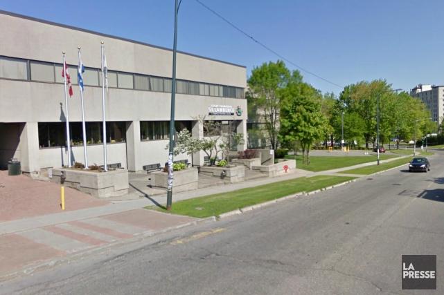 Le cégep anglophone Champlain St. Lawrence, dans le... (Google Street View)