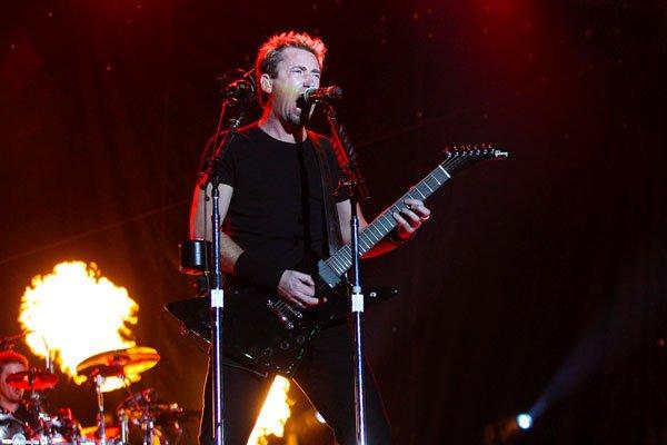 Les guitares ont suinté un rock plus ou moins sale, plus ou moins  grunge, mais... (Patrick Woodbury, LeDroit)