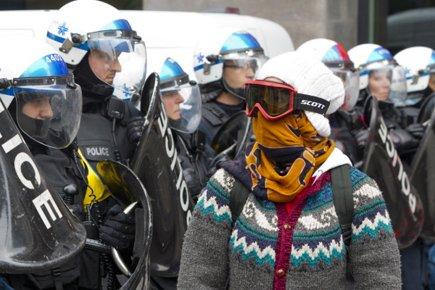 C'est durant la manifestation contre le Plan Nord,... (Photo: Alain Roberge, La Presse)