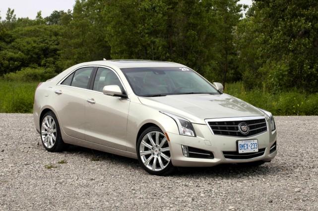 La Cadillac ATS 2013.... (Photo Éric LeFrançois, collaboration spéciale)