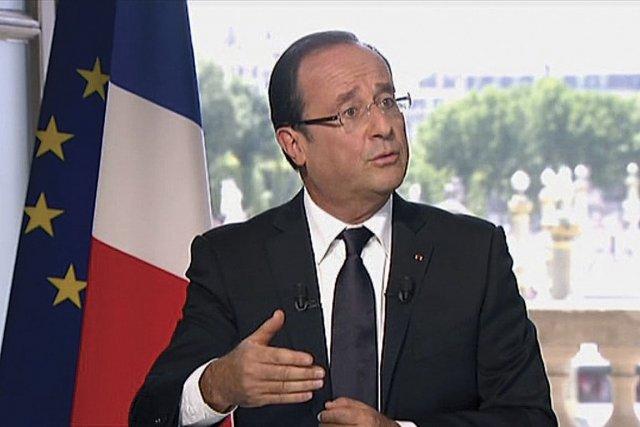 François Hollande s'achemine vers un «équilibre» par une... (Photo : Reuters)