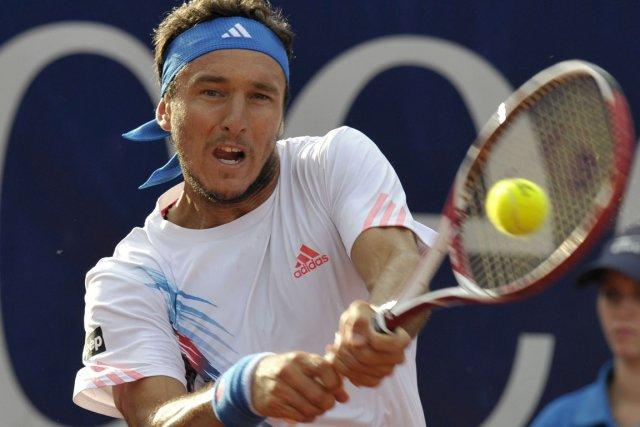 Juan Monaco... (Photo : Thomas Kienzle, AFP)
