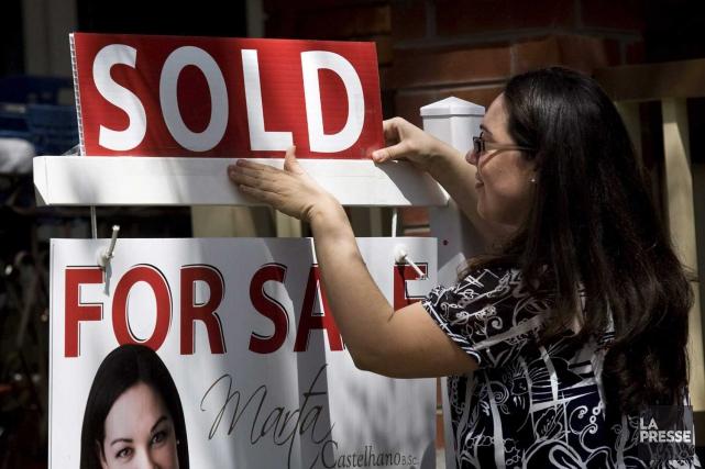 Les ventes résidentielles ont rebondi de 12 pour... (PHOTO ARCHIVES LA PRESSE)