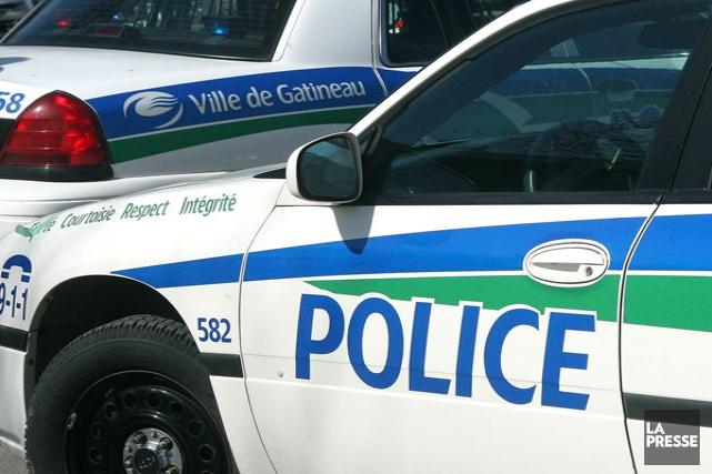 À elle seule, la police de Gatineau a... (Patrick Woodbury, Archives LeDroit)