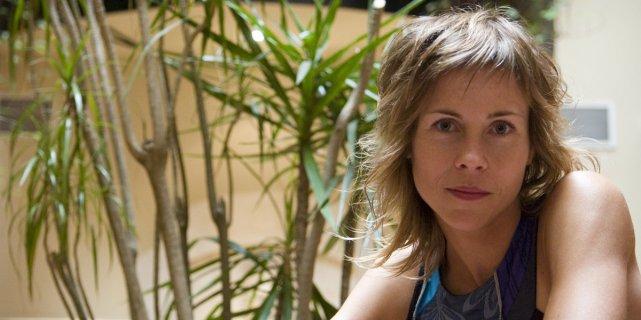 Louise Archambault au lancement de son film Familia,... (Ivanoh Demers, La Presse)