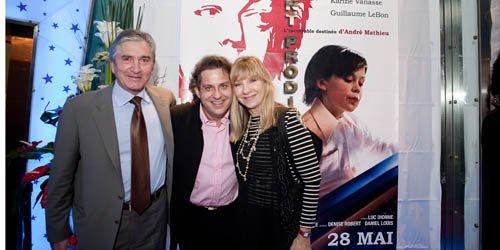 Michel Roy, président de Téléfilm Canada, avec Alain... (Photo Philippe Roy)