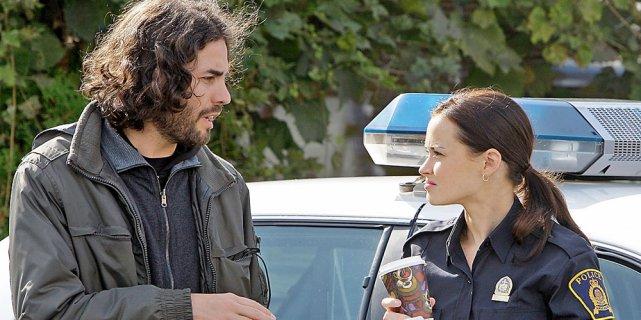 Le réalisateur Noël Mitrani avec l'actrice américaine Alexis... (Robert Mailloux, La Presse)