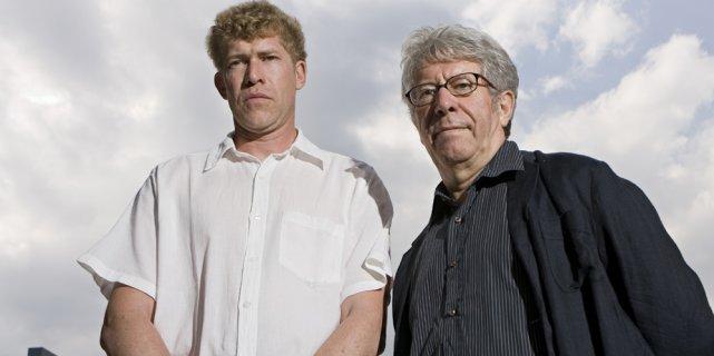 Nathan et Claude Miller... (David Boily, La Presse)