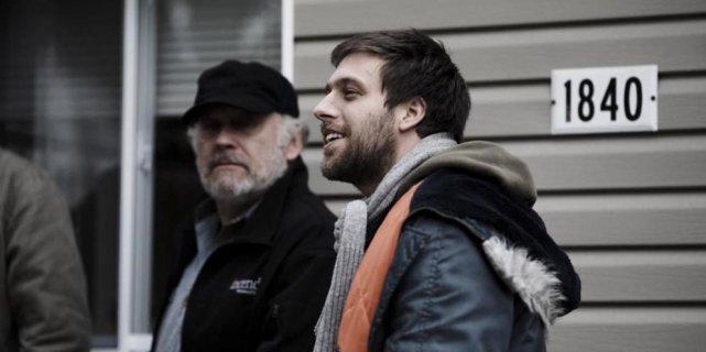 Le réalisateur Maxime Giroux a tourné Demain avec... (Photo fournie par Séville)