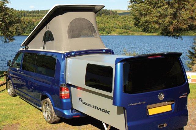 Le Volkswagen Transporter Doubleback.... (Photo Doubleback)