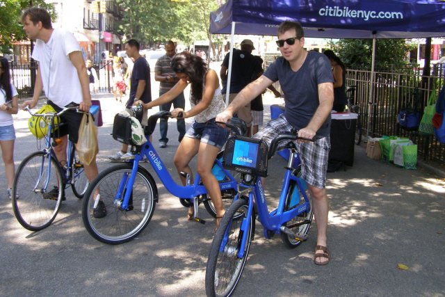Le Citibike de New York... (PHOTO RICHARD HÉTU, COLLABORATION SPÉCIALE)