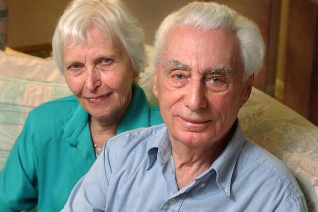 Né en Ukraine, Helmut Oberlander était membre d'un... (Photo archives La Presse Canadienne)