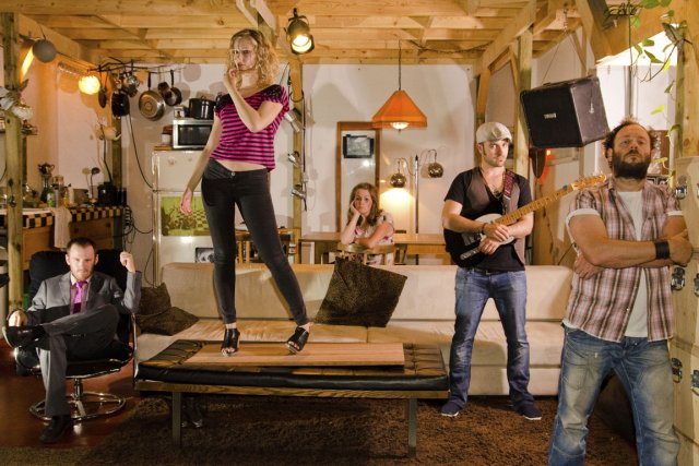Dans Ménageries, chaque personnage essaie de justifier sa... (Photo fournie par Jean-Philippe Baril Guérard)