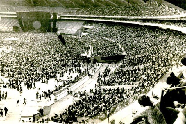 Le soir du 6 juillet 1977, au Stade...