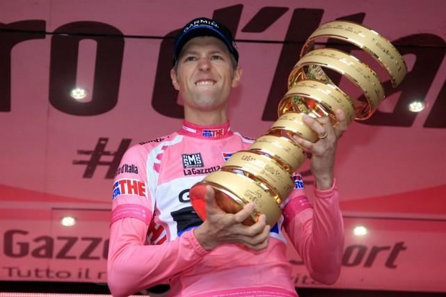 Le Canadien Ryder Hesjedal a remporté le Tour... (Photo Luk Benies, archives AFP)