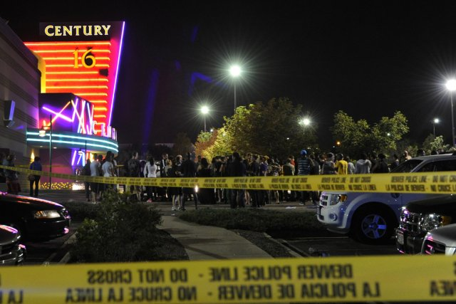 Une fusillade dans un cinéma de la banlieue... (Photo AP)