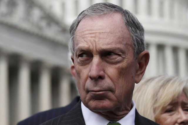 Le maire de New York, Michael Bloomberg.... (Photo : Jason Reed, Reuters)